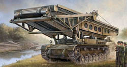 Trumpeter GERMAN BRIDGELAYER IVb 1:35 , LIST PRICE $59.95