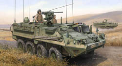 Trumpeter 1/35 M1130 Stryker Command, NV, LIST PRICE $42.95