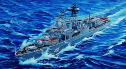 Trumpeter RUSSIAN NAVY UDALOY 1:350 , LIST PRICE $89.95