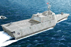 Trumpeter 1/350 USS Independence LCS-2 Littoral Combat Ship, LIST PRICE $35.95