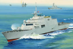 Trumpeter 1/350 US Freedom LCS-1 Littoral Combact Ship, LIST PRICE $52.95
