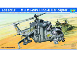 Trumpeter Mi-24 HELICOPTER 1:35         , LIST PRICE $137.95