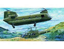 Trumpeter 1/35 CH47A Chinook Helicopter, LIST PRICE $166.65