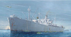 Trumpeter 1/350 WWII Liberty Ship-O'Brien, LIST PRICE $51.95