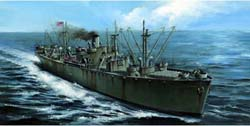 "Trumpeter 1/350 LibertyShip""USS JohnWBrowN, LIST PRICE $51.95"