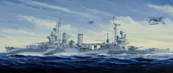 Trumpeter 1/350 USS San Francisco CA-38 '44, LIST PRICE $69.95