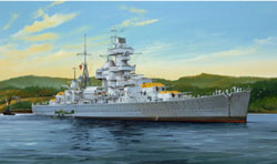 Trumpeter 1/350 Admiral Hipper Cruiser, 1941, LIST PRICE $117.95