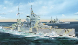 Trumpeter 1/35 HMS Queen Elizabeth British BB, 1941, LIST PRICE $114.95