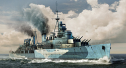 Trumpeter 1/35 HMS Belfast British Light Cruiser, LIST PRICE $109.95