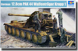 Trumpeter German 12.8Cm Pak-44 1:35, LIST PRICE $67.95