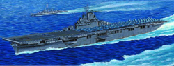 Trumpeter 1/350 USS Essext CV9 Carrier, LIST PRICE $133.95