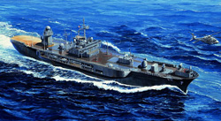 Trumpeter 1/700 USS Blue Ridge LCC-19, LIST PRICE $25.95