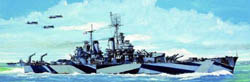 Trumpeter 1/700 USS Baltimore CA68 Cruiser, LIST PRICE $24.95