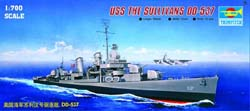Trumpeter 1/700 USS The Sullivans DD-537, LIST PRICE $18.95