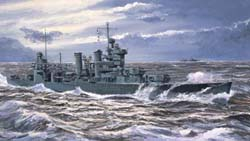 Trumpeter 1/700 USS New Orleans CA-32 '42, LIST PRICE $31.95