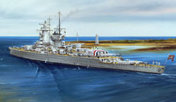 Trumpeter 1/700 Admiral Graft Spee Pocket Battleship, 1937, LIST PRICE $33.95