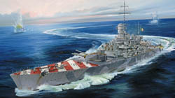 "Trumpeter 1/700 RN ""Roma"" Italian Navy Battleship, '43 New T, LIST PRICE $46.95"