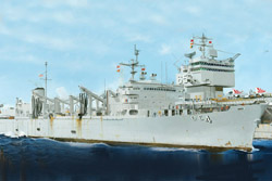 Trumpeter 1/700 USS Detroit AOE-4 Fast Combat Support Ship, LIST PRICE $37.95