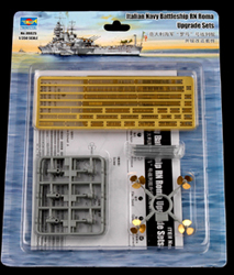 Trumpeter 1/350 RN Roma Italian BB Detail Access Set, LIST PRICE $32.95