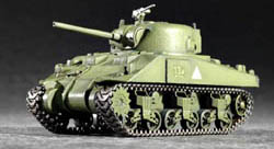 Trumpeter 1/72 M4 Med Sheman Tank US Army, LIST PRICE $15.95