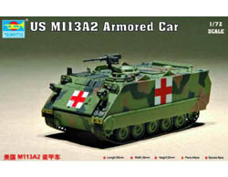 Trumpeter 1/72 US M113A2 Arm Persnl Carr, LIST PRICE $15.95