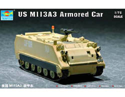 Trumpeter 1/72 US M113A3 Arm Persnl Carr, LIST PRICE $19.95