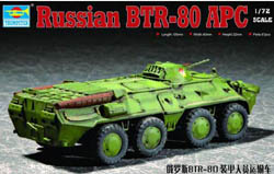 Trumpeter RUSSIAN BTR-80 APC 1:72 , LIST PRICE $15.95