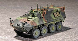 Trumpeter 1/72 USMC LAV-C2 Light ACCV, LIST PRICE $15.95