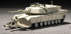 Trumpeter 1/72 M!A1 Abrams Tank w/Mine, LIST PRICE $17.95