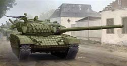 Trumpeter 1:35 RUSSIAN T72A TANK , LIST PRICE $85.95