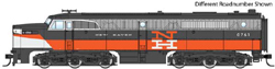 Walthers Mainline HO Alco PA New Haven 0766 McGinnis blk vermillion, LIST PRICE $159.98