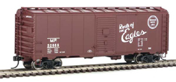 Walthers Mainline HO 40' AAR 1944 Boxcar MP #32655, LIST PRICE $27.98