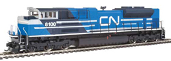 Walthers Mainline HO SD70ACe DCC CN 8100, LIST PRICE $199.98