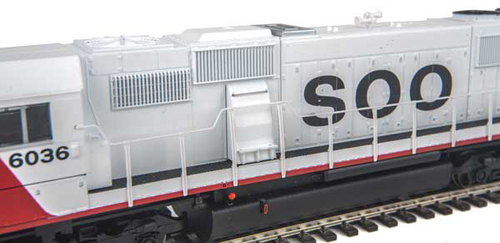 Walthers Mainline HO Dsl Detail Kit SD50/60, LIST PRICE $9.98