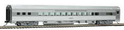 Walthers Mainline HO 85' Budd Small Wind Coach Unlettered, LIST PRICE $34.98