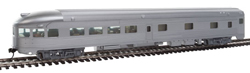 Walthers Mainline HO 85' Budd Observation Unlettered, LIST PRICE $34.98