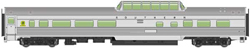 Walthers Mainline HO 85' Budd Dome Coach RTR Southern Railway silver, DUE 9/28/2018, LIST PRICE $39.98