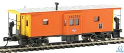 Walthers Mainline HO International Bay Window Caboose MILW Rd #992226, LIST PRICE $34.98