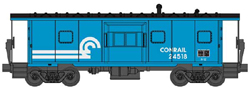 Walthers Mainline HO International BW Caboose Conrail , LIST PRICE $34.98