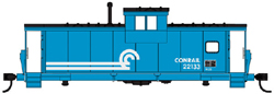 Walthers Mainline HO Int Extended WV Caboose Conrail 22133, DUE 6/28/2019, LIST PRICE $34.98