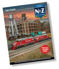 Walthers 2014 N & Z Reference Book, LIST PRICE $15.98