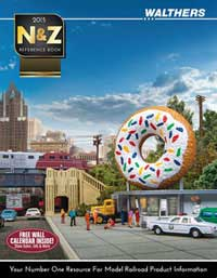 Walthers 2015 N & Z Reference Book, LIST PRICE $15.98