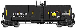 Proto by Walthers HO 40' 14K Gal Molten Sulfur Tank Sulcom Inc SUJX #299036, LIST PRICE $44.98
