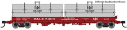 Proto by Walthers HO 50' Cshn Coil B&LE #6013, DUE 3/28/2020, LIST PRICE $59.98