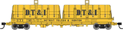 Proto by Walthers HO 50' Cshn Coil DT&I #1128, DUE 3/28/2020, LIST PRICE $59.98