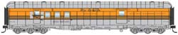 Proto by Walthers HO 70ft HW RPO Bgge Car RTR D&RGW TM Round Roof, LIST PRICE $84.98