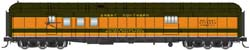 Proto by Walthers HO 70ft HW RPO Bgge Car RTR GN Clerestory Roof, LIST PRICE $84.98