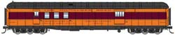 Proto by Walthers HO 70ft HW RPO Bgge Car RTR Milwaukee Road Cleresto, LIST PRICE $84.98