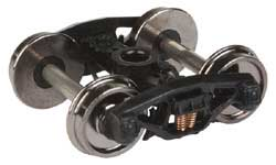 "Proto by Walthers HO Frght Trks 1 Pr Bettendorf 33"" Whls Sprung, LIST PRICE $9.98"
