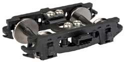 Proto by Walthers HO Express Car Trucks 1 Pair Pennsylvania 2D-P5 Black, LIST PRICE $14.98
